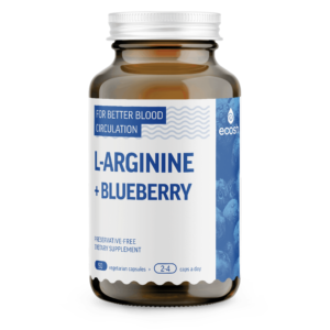 L-ARGININE + blueberry