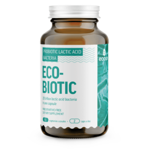 ECOBIOTIC – 20 Billion lactic acid bacters in one capsule