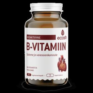 Bioactive vitamin B for the heart + 100% energy