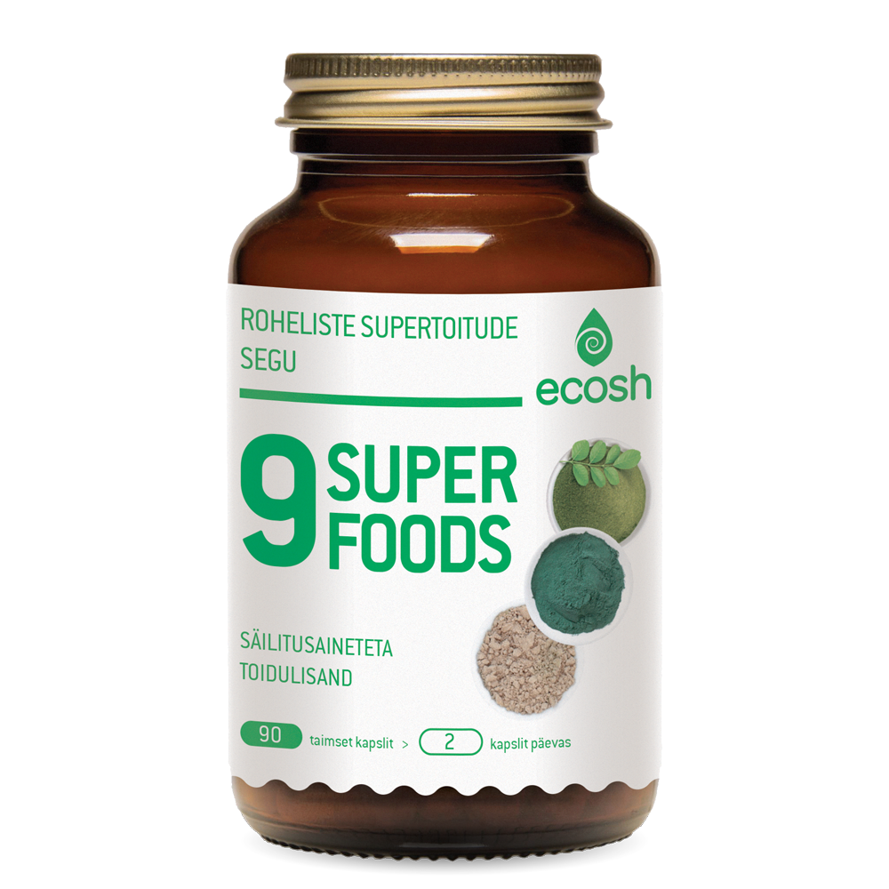 9 Superfoods – Supergreen
