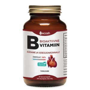 Bioactive vitamin B for the heart + 100% energy