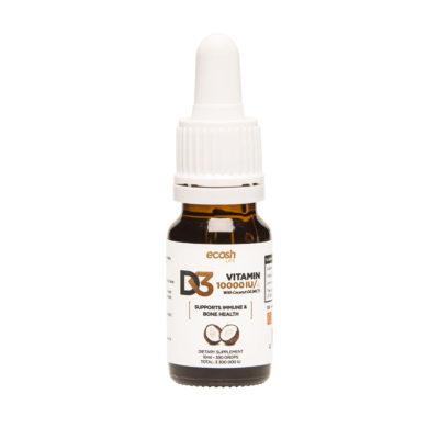 Vitamin D3 5 000 IU drop, MCT coconut oil, 10 ml