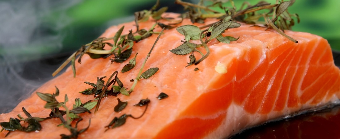 Salmon is rich in vitamin D