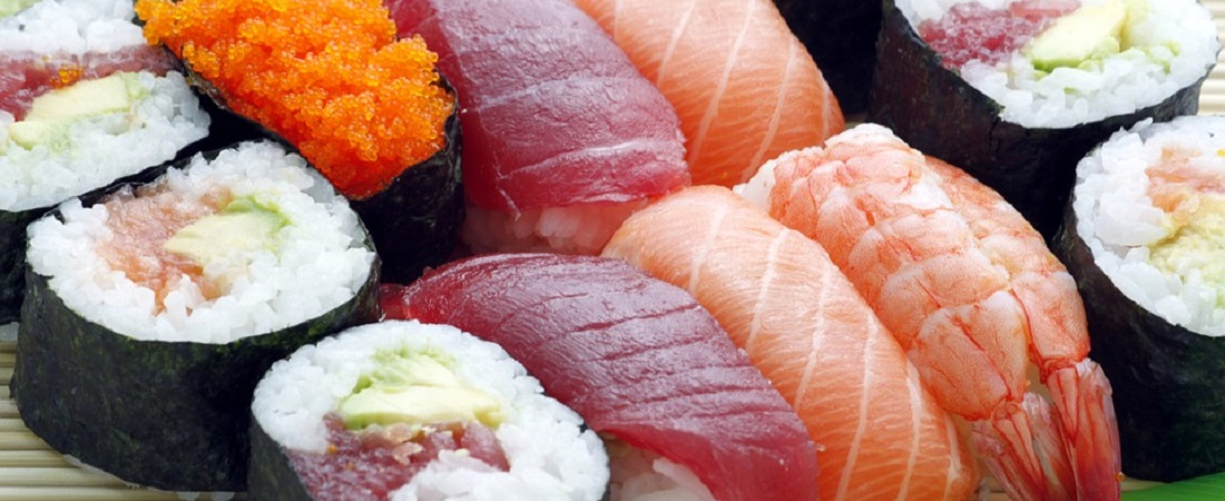 Sushi is rich in vitamin D