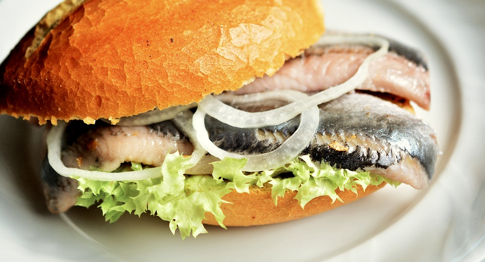 herring burger