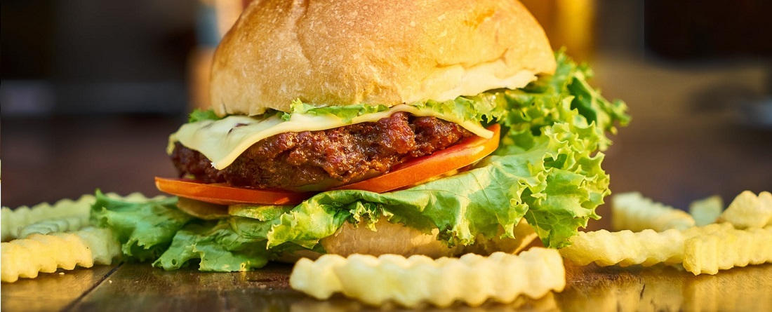 Burger and cholesterol