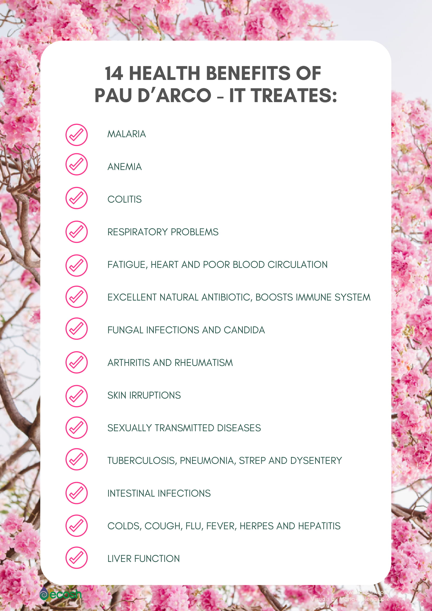 Health benefits of Pau D' Arco