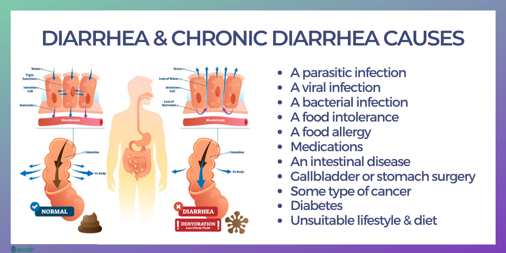 what diet changes cause diarrhea